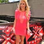 Britney Spears at the first day of X-Factor auditions 115571