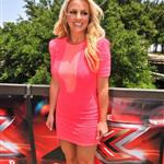 Britney Spears at the first day of X-Factor auditions 115572