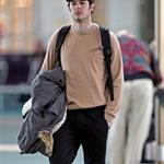 Adam Brody at the Vancouver airport 31165