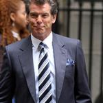 Pierce Brosnan on set of Remember Me in New York  42686