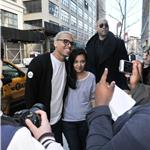 Chris Brown swarmed by female fans after outburst on GMA  81899