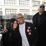 Chris Brown swarmed by female fans after outburst on GMA  81900