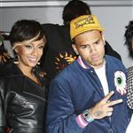 Chris Brown shoots a music video in LA with Keri Hilson  45149