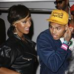 Chris Brown shoots a music video in LA with Keri Hilson 45148