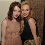 Emily Browning and Juno Temple attend NYLON Magazine's Young Hollywood Issue dinner at the Hollywood Roosevelt Hotel last May 125047