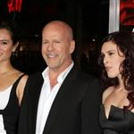 Bruce Willis at RED premiere with wife Emma and daughter Rumer 70731
