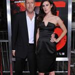 Bruce Willis at RED premiere with wife Emma and daughter Rumer 70734
