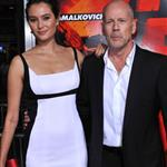 Bruce Willis at RED premiere with wife Emma and daughter Rumer 70738