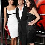 Bruce Willis at RED premiere with wife Emma and daughter Rumer 70742