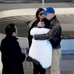 Bruce Willis comforts his daughter Tallulah at airport in Paris 99188