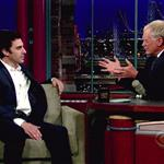 Sacha Baron Cohen promotes Bruno on David Letterman 42583