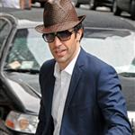 Sacha Baron Cohen arriving at Letterman 42587