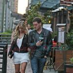 Michael Buble with Luisana Lopilato in Vancouver 44987