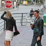 Michael Buble with Luisana Lopilato in Vancouver 44988