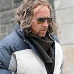 Nicolas Cage in costume on the NY set of The Sorcerer's Apprentice 56001