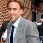 Nicolas Cage bad hair at Letterman 24274
