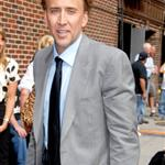 Nicolas Cage bad hair at Letterman 24273