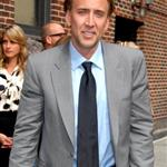 Nicolas Cage bad hair at Letterman 24270