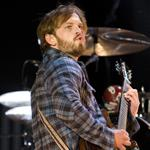 Caleb Followill of Kings of Leon performs at Reading Festival 45835