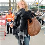 Cameron Diaz arrives in London to visit Paul Sculfor after presenting to Leonardo DiCaprio at Kids' Choice 35699