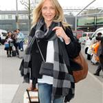 Cameron Diaz arrives in London to visit Paul Sculfor after presenting to Leonardo DiCaprio at Kids' Choice 35700