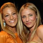 Cameron Diaz with Blake Lively backstage at Teen Choice Awards 2011 91348