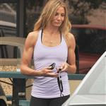 Cameron Diaz showed off very cut arms after workout with Alex Rodriguez  79437
