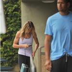 Cameron Diaz showed off very cut arms after workout with Alex Rodriguez  79438