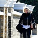 Cameron Diaz leaves Gwyneth Paltrow's house in London  104779