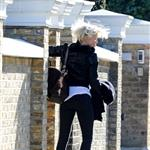Cameron Diaz leaves Gwyneth Paltrow's house in London  104781