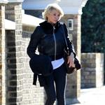 Cameron Diaz leaves Gwyneth Paltrow's house in London  104784