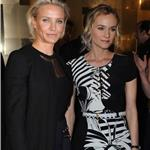 Cameron Diaz and Diane Kruger attend the Versace Haute Couture Spring/Summer 2012 Presentation as part of Paris Fashion Week 103527