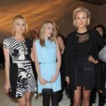 Cameron Diaz, Ludivine Sagnier and Diane Kruger attend the Versace Haute Couture Spring/Summer 2012 Presentation as part of Paris Fashion Week 103529