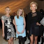 Cameron Diaz, Ludivine Sagnier and Diane Kruger attend the Versace Haute Couture Spring/Summer 2012 Presentation as part of Paris Fashion Week 103530