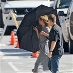 Cameron Diaz on the set of What To Expect When You're Expecting 92977