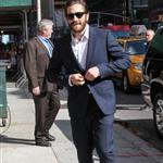 Jake Gyllenhaal arrives at The Late Show with David Letterman 124335
