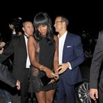 Naomi Campbell with boyfriend Vladimir Doronin at the Chopard party last night  61374