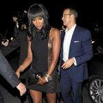 Naomi Campbell with boyfriend Vladimir Doronin at the Chopard party last night  61375