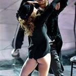 Elisabetta Canalis dances onstage at the 61st San Remo Music Festival  92101