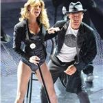 Elisabetta Canalis dances onstage at the 61st San Remo Music Festival  92102