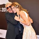 Elisabetta Canalis with Roberto Cavalli in Berlin at GQ Man of the Year Awards 97361