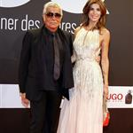 Elisabetta Canalis with Roberto Cavalli in Berlin at GQ Man of the Year Awards 97367