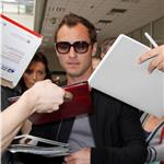 Jude Law arrives at Nice Airport for the 64th Cannes Film Festival 85015