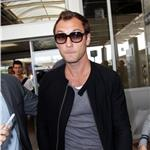 Jude Law arrives at Nice Airport for the 64th Cannes Film Festival 85016