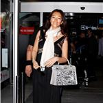 Gong Li arrives at Nice Airport for the 64th Cannes Film Festival 85025
