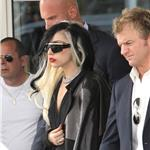 Lady Gaga arrives at the Bourget airport  85028