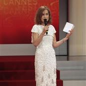 Isabelle Huppert presenting in Cannes 39755