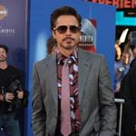 Robert Downey Jr. at Captain America premiere in Hollywood  90367