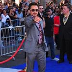 Robert Downey Jr. at Captain America premiere in Hollywood  90368