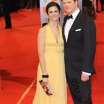 Colin Firth and wife Livia at the BAFTAs 55467